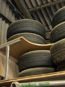 Four Toyota Landcruiser Alloy Wheels