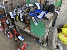 Steel Framed Mobile Workshop Bench