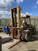Coventry Climax 150DA-1062 15000lb cap. DIESEL ENG