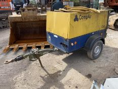 Compair DLT0406 Single Axle Trailer Mounted Air Co
