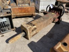Rammer E68 2 tonne HYDRAULIC HAMMER, serial no. 22