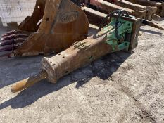 Montabert 1.5 tonne Hydraulic Hammer, serial no. V