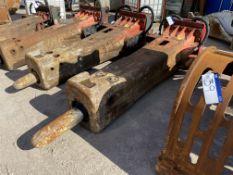 Rammer G110 5 tonne HYDRAULIC HAMMER, serial no. 4