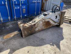 Furukawa 2 tonne HYDRAULIC HAMMER, with OilQuick O