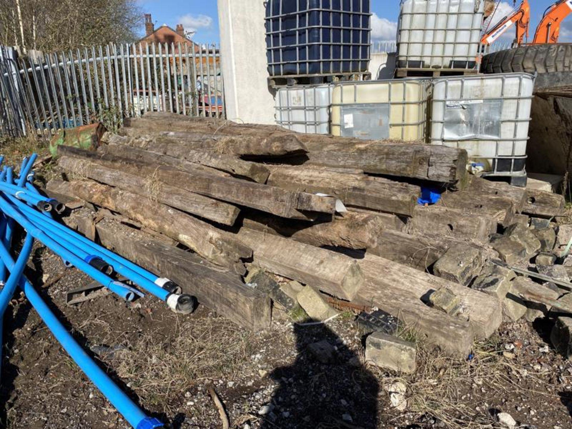 Lot 172 - Timber Baulks, as set out