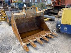 Geith 1.65m wide Rock Bucket, serial no. 300/5, 70
