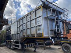 Swan KKD 38 tonne TRI-AXLE STEPTIPPER BULK TIPPING