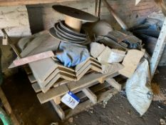Assorted Roofing Materials, as set out on pallet
