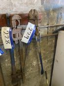 Record No. 936 Bolt Croppers, as set out on rack