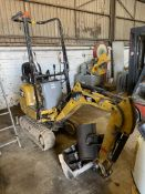 Caterpillar 300.9D HYDRAULIC MINI EXCAVATOR, PIN C