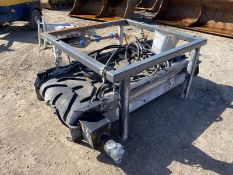 Hydraulic Drive Overband Magnet, 800mm x 2m long
