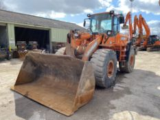Doosan DL350 ARTICULATED WHEELED LOADING SHOVEL, P