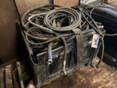 Assorted Hydraulic Hoses, as set out in plastic tu
