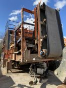 Brown Lennox 75 tonne TRI-AXLE WHEELED JAW CRUSHER