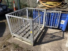 Syspal Aluminium Cage, approx. 1.2m x 1m x 950mm