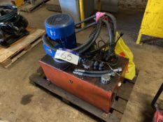 Hydraulic Power Pack, for testing hydraulic attach