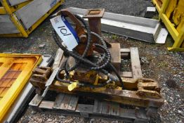 Fassetta 1150kg swl Hydraulic Rail Lifting Beam, (