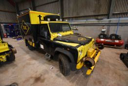 Landrover DEFENDER 130 4x4 DIESEL ENGINE ROAD RAIL