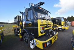 Foden 2215 ROAD RAIL 4x4 MEWP TRUCK, registration