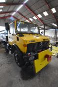 Mercedes Benz UNIMOG 424 U1000 4x4 LHD ROAD RAIL S