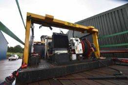 Jetchem SKID MOUNTED DIESEL ENGINE PRESSURE WASHIN