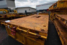 Predator 5m Rail Trailer, Air Brakes, (SV248), EAC