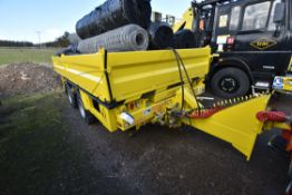 Chieftain ROAD RAIL TWIN AXLE DROPSIDE TRAILER, se
