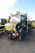 Mercesdes Benz UNIMOG U2150 437/40 ROAD RAIL 4x4 L