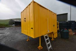 DEMOUNTABLE WELFARE UNIT, approx. 3.6m long on mai