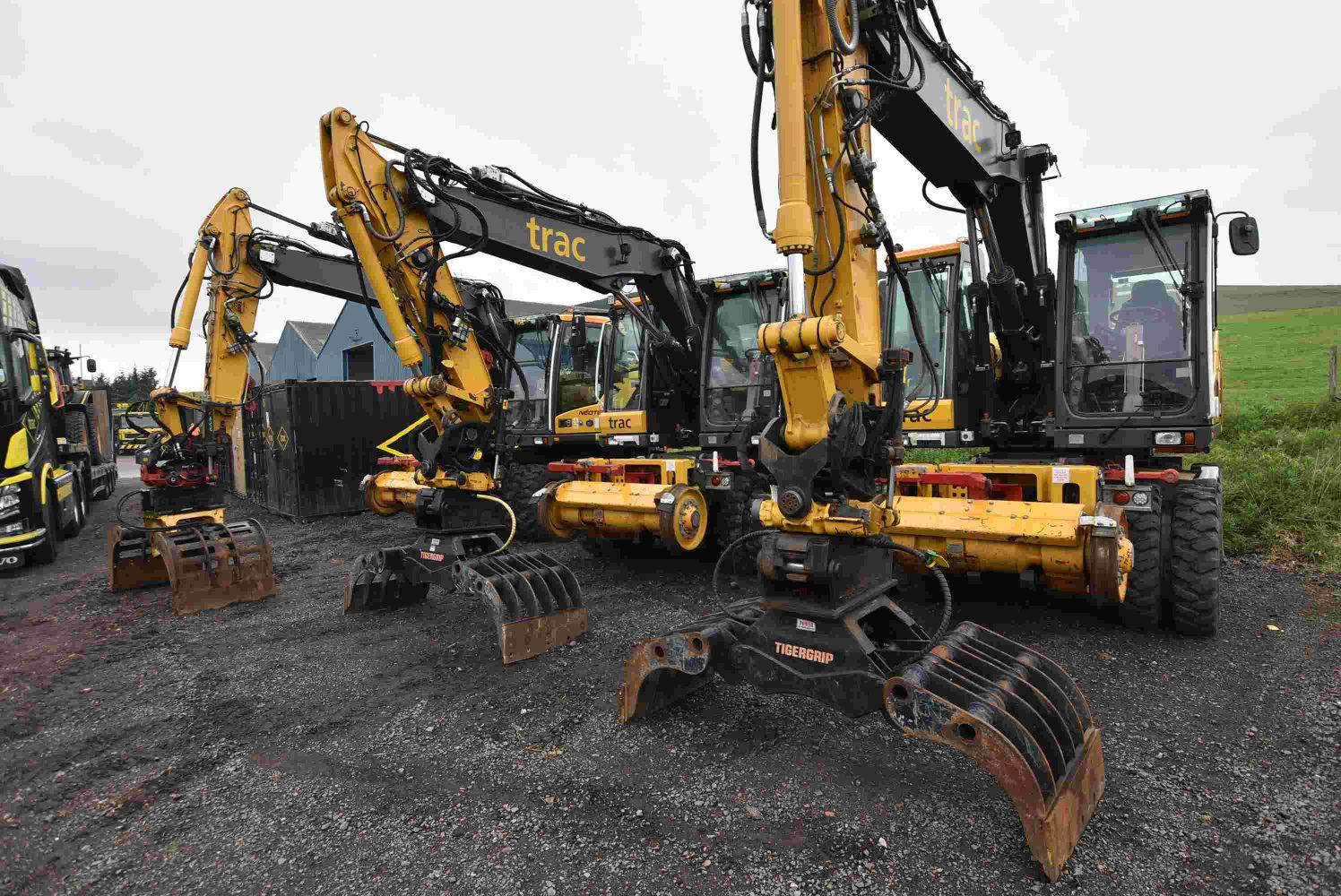 Major Online Auction - Road Rail Vehicles (w6a gauge), Rail Infrastructure, Maintenance Contractors Plant and Equipment