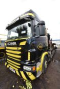 Scania R440 8x2 CHEESE WEDGE BEAVERTAIL PLANT TRAN