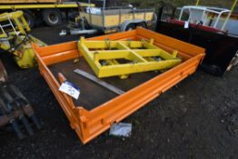 Dropside Vehicle Body, approx. 2860mm x 2m x 400mm