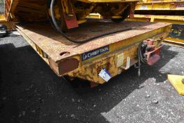 Chieftain 4m RAIL TRAILER, AIR BRAKES, year of man