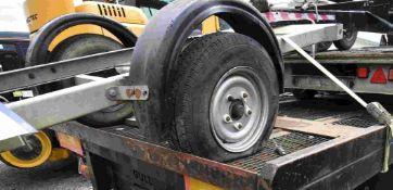 Single Axle Bowser Road Trailer Body, approx. 2.3m