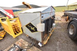 Rail Trolley Mounted Welding Pod /  Storage Unit,
