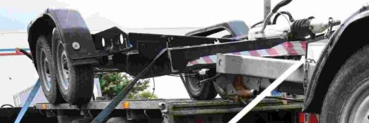 Twin Axle Bowser Road Trailer Body, approx. 2.4m l