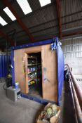 6m Steel Cargo Storage Container, (no steel end do