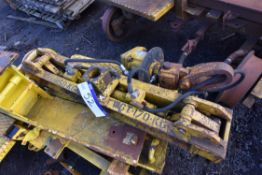 Fassetta Rail Beam Lifting Unit, SWL 1150kg, lot l