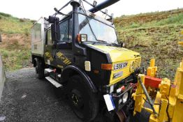 Mercedes Benz UNIMOG U1250 TURBO ROAD RAIL CREWCAB
