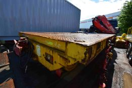 Chieftain 5m RAIL TRAILER, AIR BRAKES, year of man