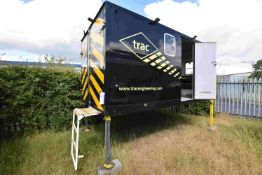 DEMOUNTABLE WELFARE UNIT, (suitable for lot 12 DAF