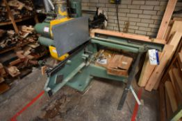 Robinson RP/P/E 15 x 6 SINGLE ENDED FIVE HEAD TENONER, machine no. 579, test no. 68/386, with