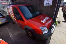 Ford CONNECT 200 SWB TDCi 75ps LOW ROOF CAR DERIVED VAN, reg no. YF63 NWR, date first registered