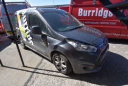 Ford CONNECT 200 L1 1.5 TDCi 120ps LIMITED CAR DERIVED VAN, reg no. ND18 HCH, date first