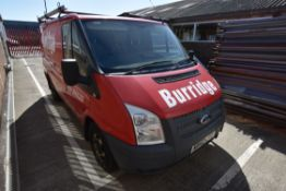 Ford TRANSIT 100T 280 FWD SWB LOW ROOF PANEL VAN, reg no. ND62 LFE, date first registered 25/02/