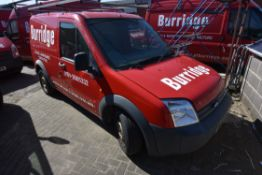 Ford CONNECT T200 75 TDCi LOW ROOF CAR DERIVED VAN, reg no. NJ57 ZGC, date first registered 01/09/