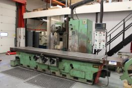 Zayer 3500 BF Bed Type Miller, serial no. 37699, a
