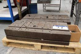 Two Machining Tooling Blocks, each approx. 920mm w