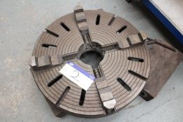 Four Jaw Chuck, 800mm dia.