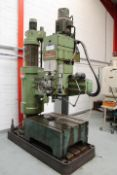 Asquith OD1 MK2 15/54 RADIAL ARM DRILL, serial no.